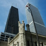 Hancock, Water Tower, and Water Tower Place
