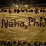 Neha's Defense Cake